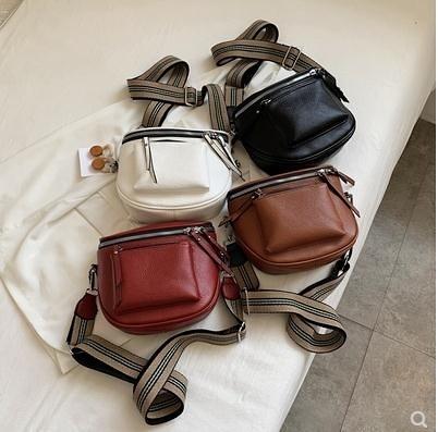 馬鞍包 包包女包2020新款時尚ins韓版女士側背斜背包軟皮小包休閒馬鞍包 源治良品