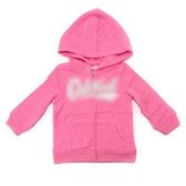 OSHKOSH 純棉薄連帽外套 粉色 | 女寶寶(嬰幼兒/兒童/小孩)