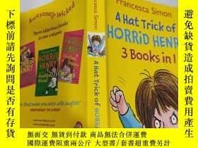 二手書博民逛書店a罕見hat trick of horrid henry 可怕的亨利的帽子戲法..Y200392