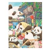 TOI圖益潮玩拼圖300片成年人減壓解悶玩具鶴鳴茶社的熊貓00872 初色家居館