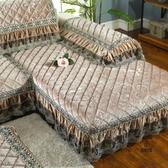沙發墊布藝防滑加厚毛絨皮沙發坐墊定做【愛物及屋】