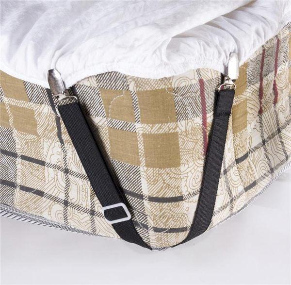 可調節鬆緊帶床單固定器床墊笠套沙發墊固定扣被子防滑夾床罩扣 蓓娜衣都
