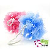 《皮久熊》台灣製 皺皺網 沐浴球/澡球  (不挑色) [大番薯批發網 ]