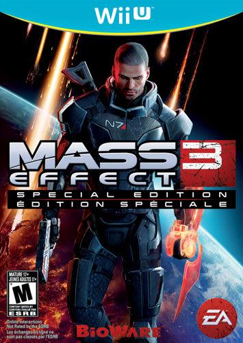 WiiU Mass Effect 3 質量效應 3 特別版(美版代購)