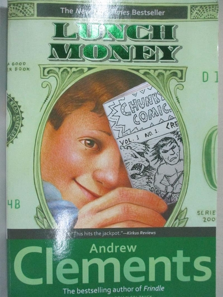 【書寶二手書T1/原文小說_H4H】Lunch money_Clements, Andrew