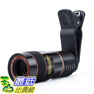 美國進口 8倍手機鏡頭望遠鏡 Telescope Camera Lens Morenitor HD 8X Optical Telescope BA-1511601 Camera Lens