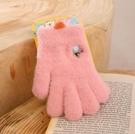 兒童手套 小手套兒童五指薄可愛新款男孩女童小童全指分指春季保暖【快速出貨八折搶購】