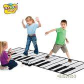 男孩女孩幼兒童跳舞腳踩踏電子琴鋼琴毯益智早教音樂玩具生日禮物MBS「時尚彩虹屋」
