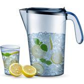 涼水壺 夏天涼水壺耐熱塑料冰箱冷水杯夏季水壺家用大容量耐高溫 米蘭街頭YDL