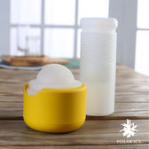 【POLAR ICE】 極地冰球專屬珍藏組-幻彩系列陽光柳橙(黃)