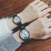 店長推薦INS手錶女學生韓版簡約時尚潮流ULZZANG休閒文藝復古情侶一對潮男