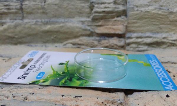 【西高地水族坊】台灣 ISTA 伊士達 水晶蝦玻璃餵食皿