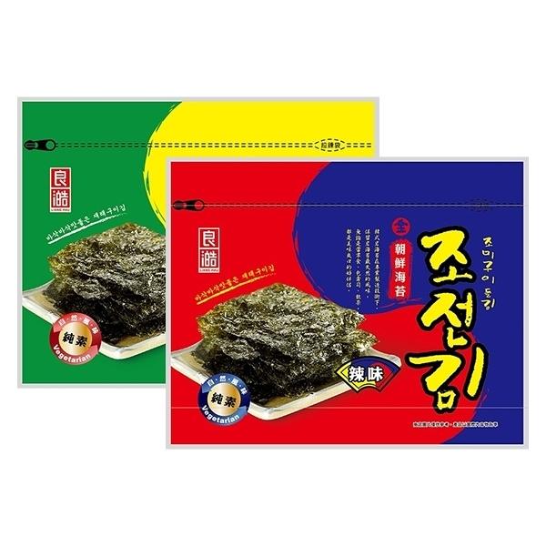良澔 金朝鮮海苔(36g) 精選原味/精選辣味 款式可選【小三美日】