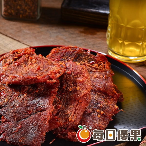 麻辣豬肉乾600G大包裝 每日優果