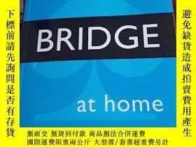 二手書博民逛書店PLAY罕見BRIDGE AT HOME英文橋牌書Y354 如圖