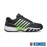 K-SWISS Bigshot Light 4輕量進階網球鞋-男-黑/霓綠