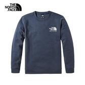 The North Face 男 長袖休閒運動服 藍 NF0A498SH2G【GO WILD】