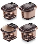 泡腳機 200V足浴盆全自動加熱按摩泡腳機電動足療家用深桶 KB2678【Pink中大尺碼】TW