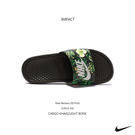 IMPACT Nike Benassi JDI Print 花卉 綠 涼鞋 拖鞋 休閒 女鞋 經典 百搭 618919 300