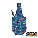 【收藏天地】台灣紀念品*漫遊台灣環保飲料袋- 美式台北∕ 環保 飲料袋 旅遊 禮物