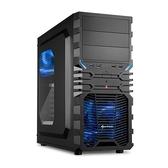 Sharkoon 旋剛 狂風者 VG4-W 藍色 ATX 透側機殼