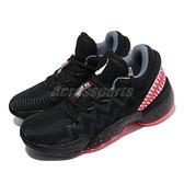 adidas 籃球鞋 D.O.N. Issue 2 GCA Venom 黑 紅 猛毒 男鞋 愛迪達 【ACS】 FW9038