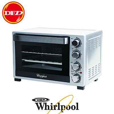 惠而浦 Whirlpool WTO320DB 雙溫控旋風烤箱 容量: 32L 3D立體反射腔體