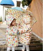 雨衣 ins兒童雨衣爆款韓國原單/小孩雨披/男童女童可愛企鵝幼兒園雨具   提拉米蘇