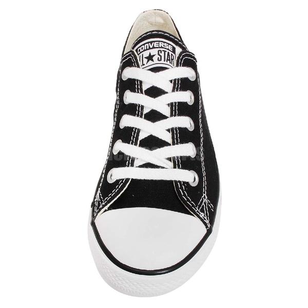 Converse Chuck Taylor All Star Dainty 黑 白 基本款 薄底 女鞋【PUMP306】530054C 530054C