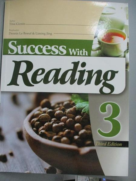 【書寶二手書T2/語言學習_XBH】Success with reading 3_Tina Gionis