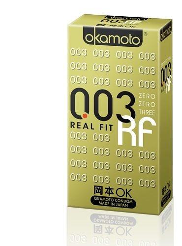 岡本 003 RF極薄貼身衛生套6入 岡本OK保險套 極薄貼身