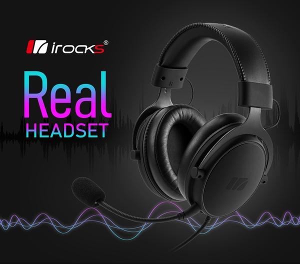 irocks Real 有線耳機_【Hi-Res等級】