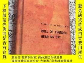 二手書博民逛書店roll罕見of thunder hear my cryY266