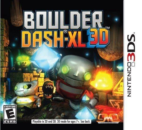 3DS Boulder Dash-XL 3D 博爾德衝刺 XL 3D(美版代購)