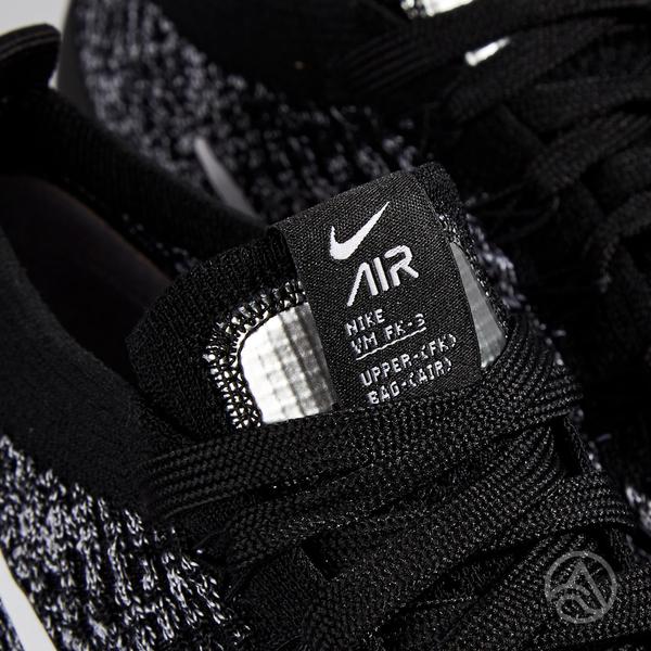 Nike Air VaporMax Flyknit 女鞋 黑色 針織 避震 氣墊 慢跑鞋 AJ6910-001