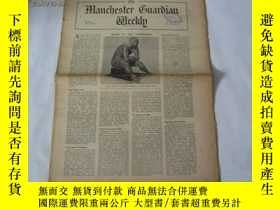 二手書博民逛書店外文原版報紙罕見THE MANCHESTER GUARDIAN WEEKLY 1948年7月22日 第4期 共16