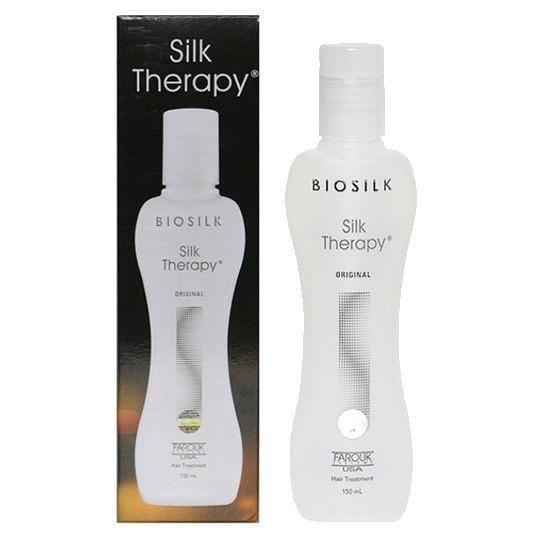 ●魅力十足● BIOSILK Silk Therapy 蠶絲蛋白 空氣感熱導精華(150ml)