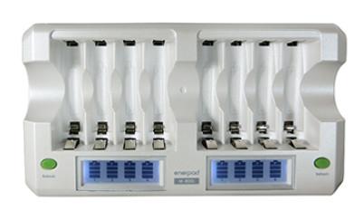 [ 中將3C ] enerpad 鎳氫電池充電器(LCD快速型) M-800L