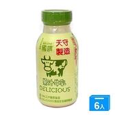 國農果汁調味乳215ml x6【愛買】