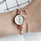 時尚潮流鏈條女士手錶 創意小錶盤女生手錶學生手錶《小師妹》yw174