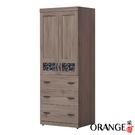 【采桔家居】戴比 現代風2.5尺二門三抽衣櫃/收納櫃