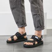 情侶涼鞋 大尺碼沙灘 羅馬厚底鞋【非凡上品】nx2426