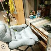 豪華椅淺蘭家用電腦椅子現代簡約懶人椅寢室沙發椅  JQ
