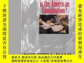 二手書博民逛書店How罕見Democratic Is The American Constitution?Y256260 Ro