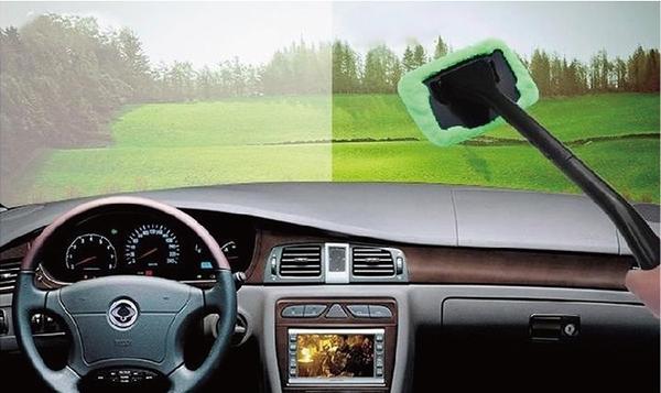 【玻璃清潔組】汽車用前擋玻璃清潔刷 擋風玻璃擦 車窗除霧刷 居家玻璃清潔 除塵刷