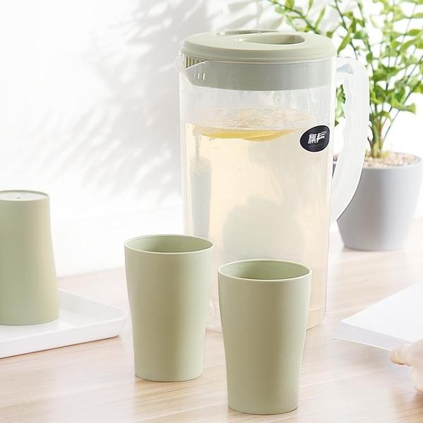 泡茶壺 塑料冷水壺涼水壺家用涼水杯塑料壺泡茶壺耐熱高溫大容量果汁壺涼杯