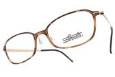 SILHOUETTE 詩樂 光學眼鏡 ST1554 21 C6051 (琥珀棕-金) 奧地利純鈦超輕量工藝 鈦眼鏡 #金橘眼鏡