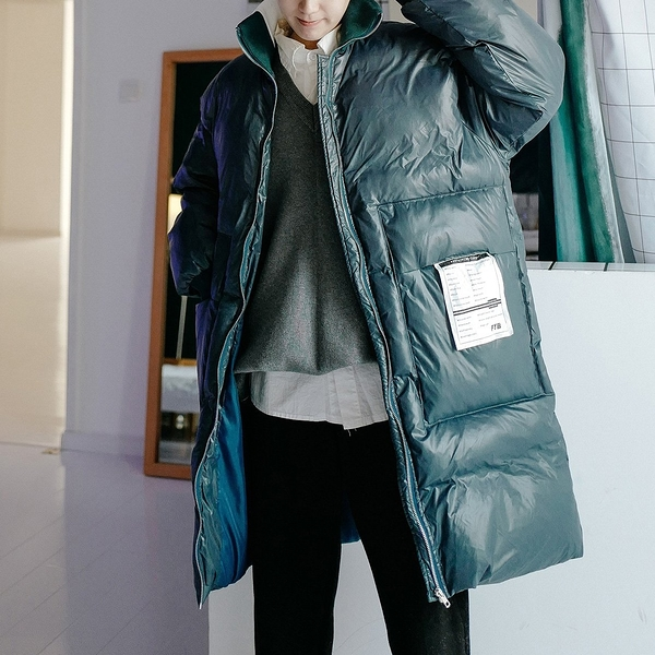 FINDSENSE品牌 秋冬季 新款 韓國 嘻哈純色 個性 長袖 運動 麵包服