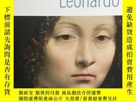 二手書博民逛書店Leonardo罕見(I geni dell arte) (天才藝術家:達 芬奇 ) 米萊娜.馬尼亞諾 (Mile