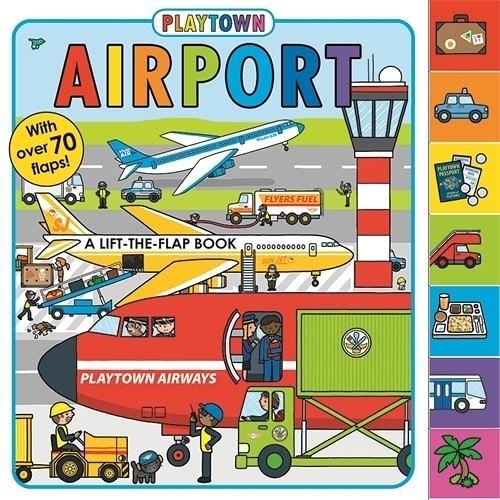 Playtown:Airport 歡樂城國際機場 硬頁翻翻操作書(美國版)
